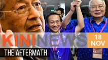 Dr Mahathir: We expected to lose, but not by over 15k votes | Kini News - 18 Nov