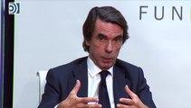 Aznar alerta de una gravísima crisis del sistema constitucional