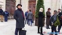 Altercation avant le conseil municipal de Lyon