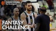 Turkish Airlines EuroLeague Regular Season Round 9: Fantasy Challenge