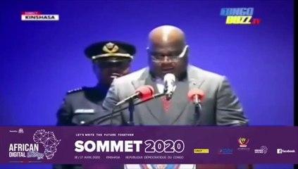 Lancement de « African Digital Story » par le Président de la RDC, Félix-Antoine Tshisekedi.