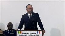 Déclaration à l'occasion de la remise du sabre d'El Hadj Oumar Tall au Sénégal