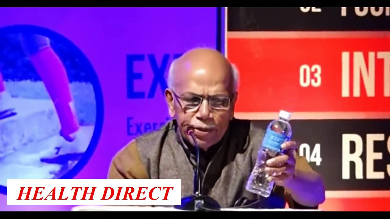 Your mind can cure Cancer – Dr.B.M.Hegde latest speech on Diabetes, Cancer, Hyper Tension, Cholesterol