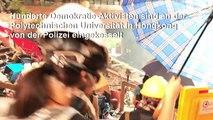 Eingekesselte Studenten in Hongkong in verzweifelter Lage