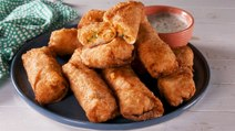 Buffalo Chicken Egg Rolls Are Perfect For Game-Day