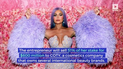 Kylie Jenner Sells Majority Stake in Cosmetic Company