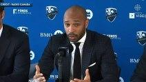 Thierry Henry agréablement surpris par l'accueil de Montréal