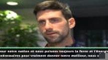 """Djokovic : """"Impatients de jouer pour notre nation"""""""