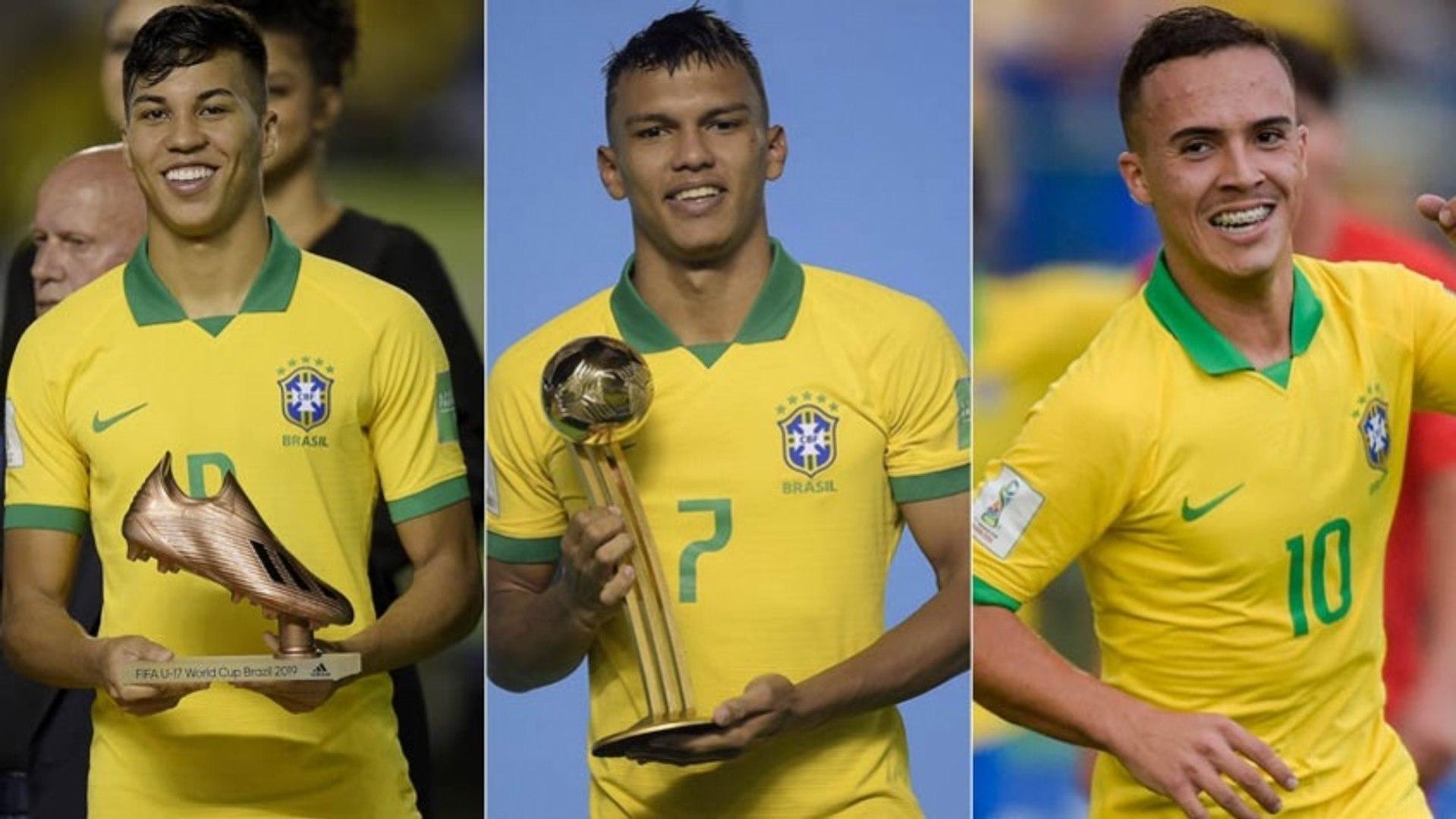 Veja quanto valem as joias do Brasil sub-17, campeão mundial