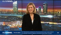 Euronews Soir : l'actualité du lundi 18 novembre 2019