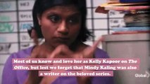 Mindy Kaling opened up about her struggle as the only woman and person of color on The Office writing staff