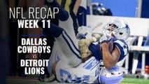 Week 11: Cowboys v Lions