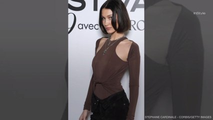 Bella Hadid Looks Identical to Kim Kardashian with Her New Bob