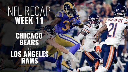 Week 11: Bears Lose to the Rams