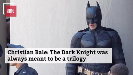 Christian Bale Looks Back On 'The Dark Knight'