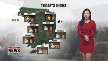 Cold wave advisory in central regions