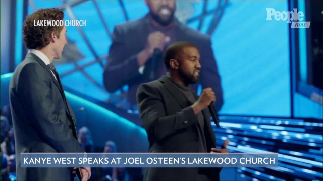 Kanye West Calls Himself the 'Greatest Artist That God Has Ever Created' at Joel Osteen's Service