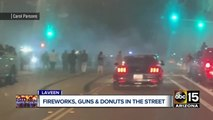 Fireworks, donuts, and guns in the streets of Laveen
