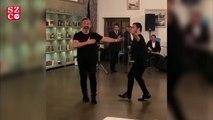 Cem Yılmaz'dan azeri dansı