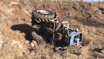 Şarampole devrilen traktörün sürücüsü aramalara rağmen bulunamadı - YOZGAT