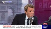 """François Baroin considère qu'Emmanuel Macron """"doit évoluer"""" sur une ultra-centralisation qui """"n'est plus dans l'air du temps"""""""