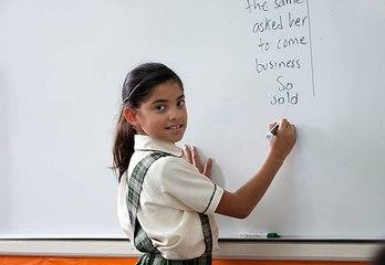 Con un dictado al día los niños pueden aprender ortografía