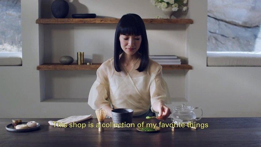 Presentación de la nueva tienda de objetos de Marie Kondo en Rakuten