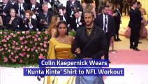 An NFL Workout Meets Colin Kaepernick Fashion