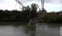 Pont effondré à Mirepoix-sur-Tarn: Deux personnes décédées