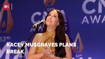 Kacey Musgraves Needs A Break