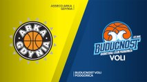 Asseco Arka Gdynia - Buducnost VOLI Podgorica Highlights | 7DAYS EuroCup, RS Round 8