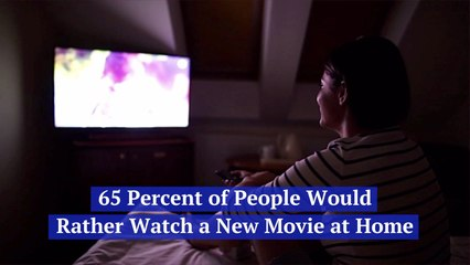People Want To See Movies At Home