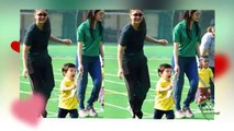Taimur Ali Khan wins his FIRST medal for mommy kareena kapoor on his school sports