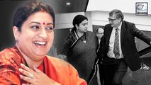 Smriti Irani Shares A Picture With Bill Gates With An Amusing Caption