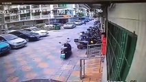 Chinese motorist deliberately crashes into woman after having argument with her