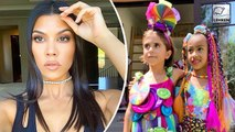 Kourtney Kardashian Shames Kim & Khloe For Eating Candy!