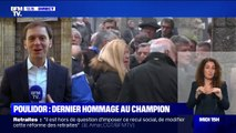 Le dernier hommage au champion Raymond Poulidor