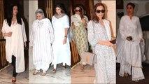 Aishwarya Rai,Kareena Kapoor, and Others Arrive @ManishMalhotra Fathers ANTIM YATRA
