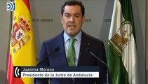Juanma Moreno certifica la vergüenza que la sentencia de los ERE supone para la Junta de Andalucía