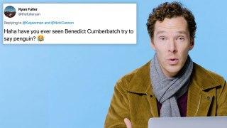 Benedict Cumberbatch Goes Undercover on the Internet