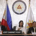 Robredo lost Cabinet post due to request for drug war docs, intel – Panelo