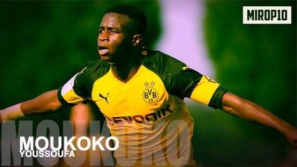Youssoufa Moukoko , la pépite du Borussia Dortmund