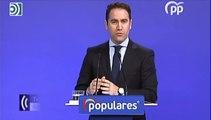 Teodoro García Egea pide a Pedro Sánchez que asuma responsabilidades tras la sentencia de los ERE