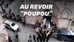 Poulidor s'en va, porté par Bernard Hinault et Bernard Thévenet
