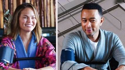 John Legend and Chrissy Teigen Take a Lie Detector Test