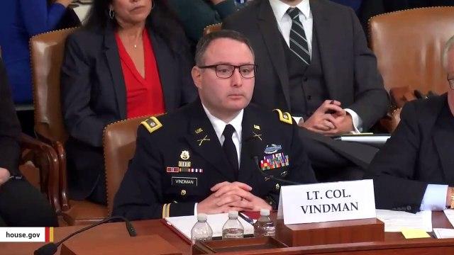 Devin Nunes Gets Corrected During Hearing: 'It's Lieutenant Colonel Vindman'