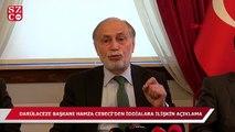 Darülaceze Başkanı Hamza Cebeci'den o iddialara yanıt!