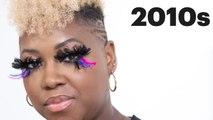 100 Years of Fake Eyelashes