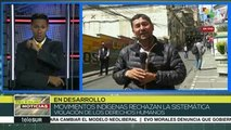Bolivia: movilizaciones en La Paz por la renuncia de Janine Áñez