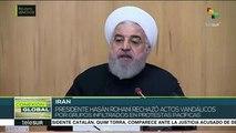Pdte. iraní afirma que respeta derecho de a la protesta